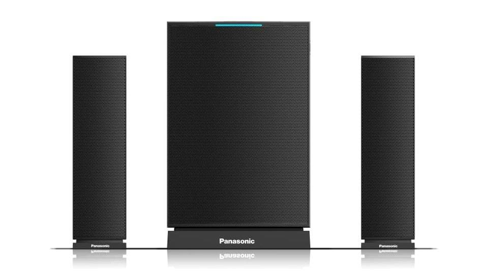 "Panasonic,speakers,""Home Entertainment"" and ""UA"" speaker system"