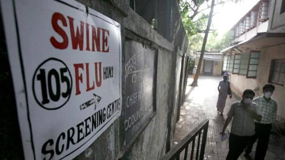 A total of 4,484 positive swine flu cases were recorded in the country and 353 deaths occurred during the period, as per the data.