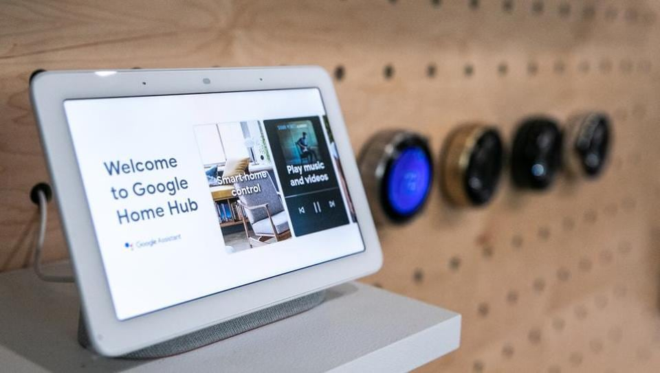 google home with screen