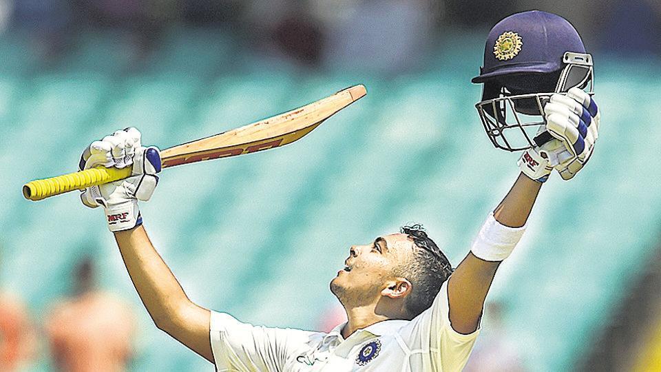 India vs West Indies,Virat Kohli,Prithvi Shaw