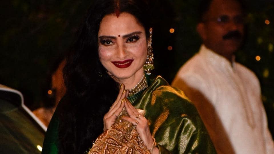 Happy birthday Rekha,Rekha,Rekha birthday