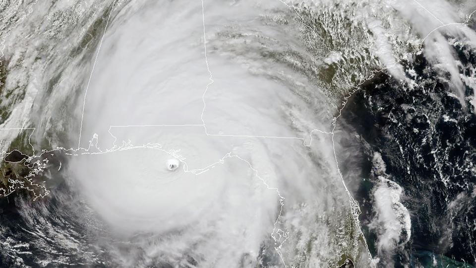 U.S.  military moves command center as Hurricane Michael bears down