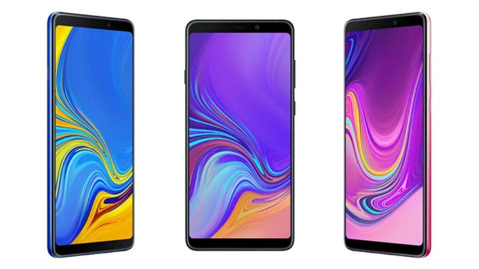 galaxy A9 2018,galaxy A9 four cameras,galaxy A9 four rear cameras