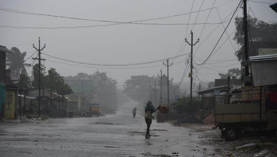 Cyclone 'Titli' uproots trees, damages houses; communication hit