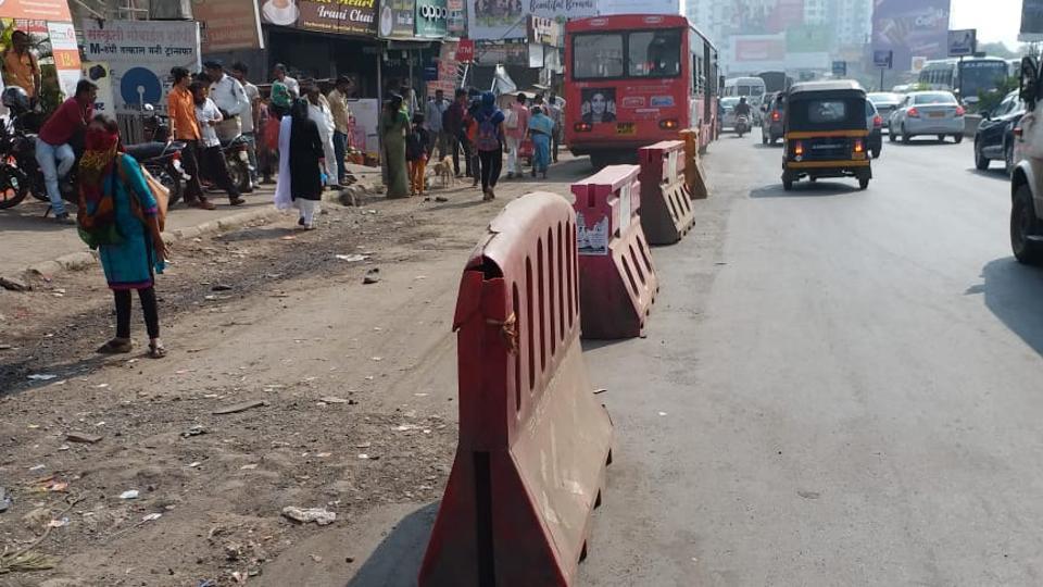 Traffic congestion,pmpml,Shivaji chowk