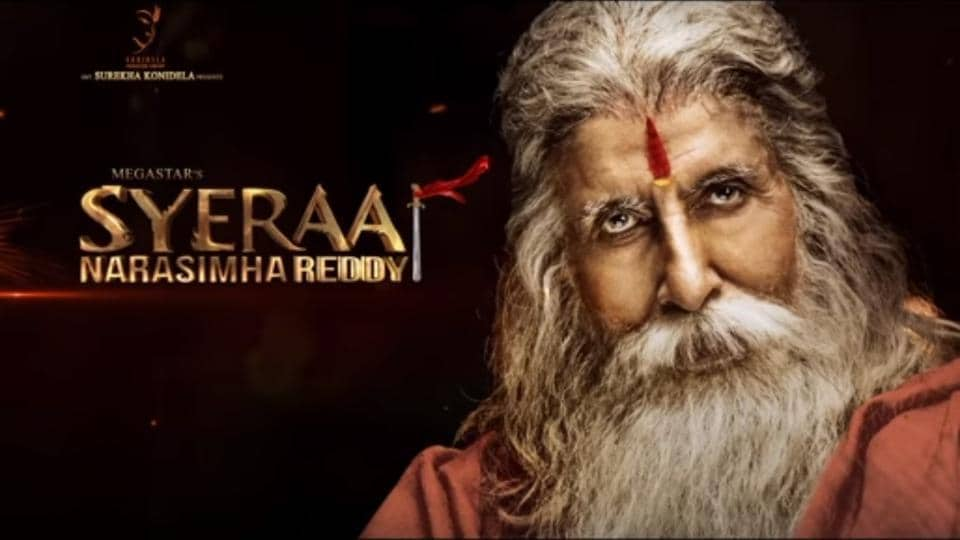 Firs Look: Amitabh is Gosayi Venkanna in Sye Raa..