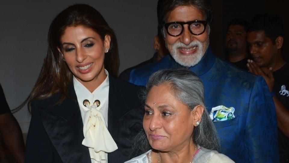 Amitabh Bachchan,Shweta Bachchan Nanda,Shweta Bachchan