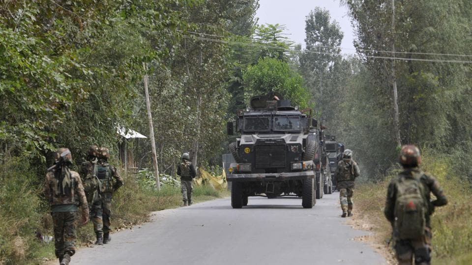 Police made repeated announcements appealing the militants to surrender, officials said. By afternoon, the operation ended and police recovered both the bodies.