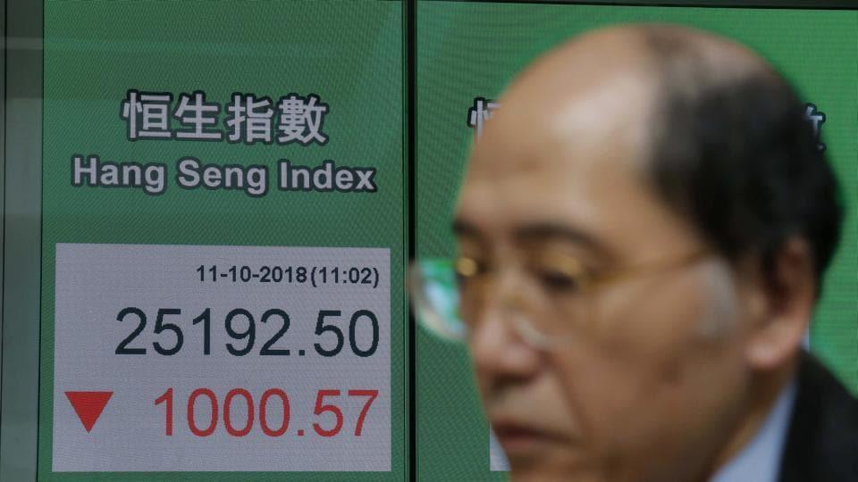 Asian shares market,Global markets,Wall steet crash