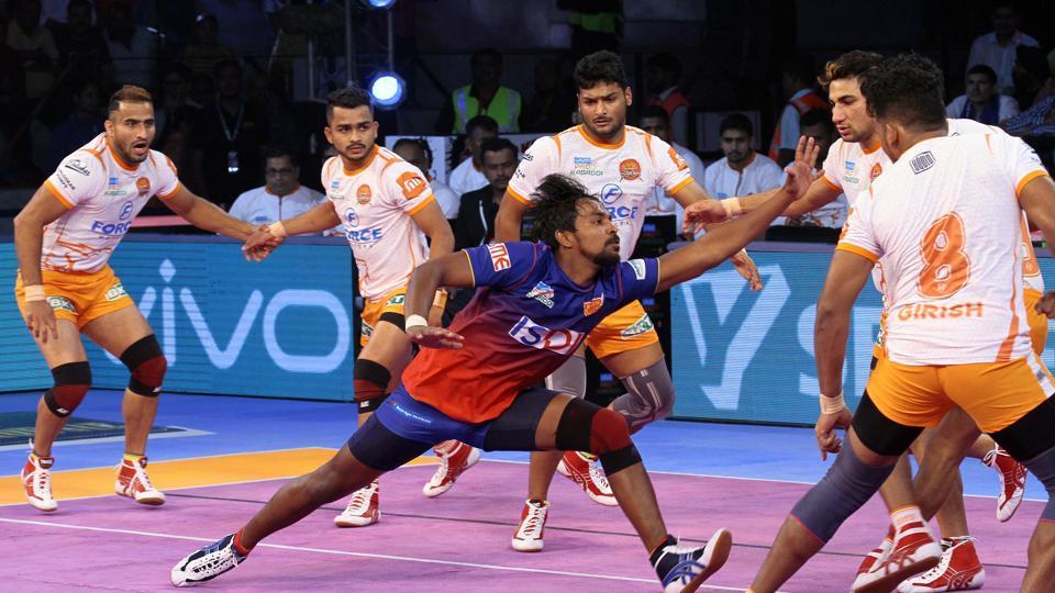 PKL 2018,Pro Kabaddi League 2018,Dabang Delhi
