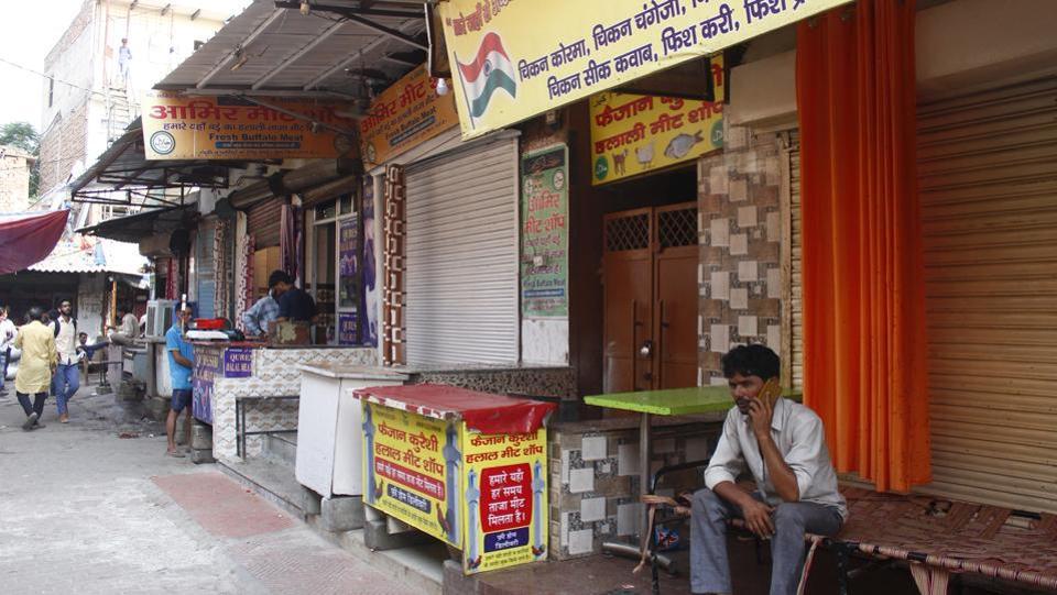 gururgram,meat shops in gurugram,navratri