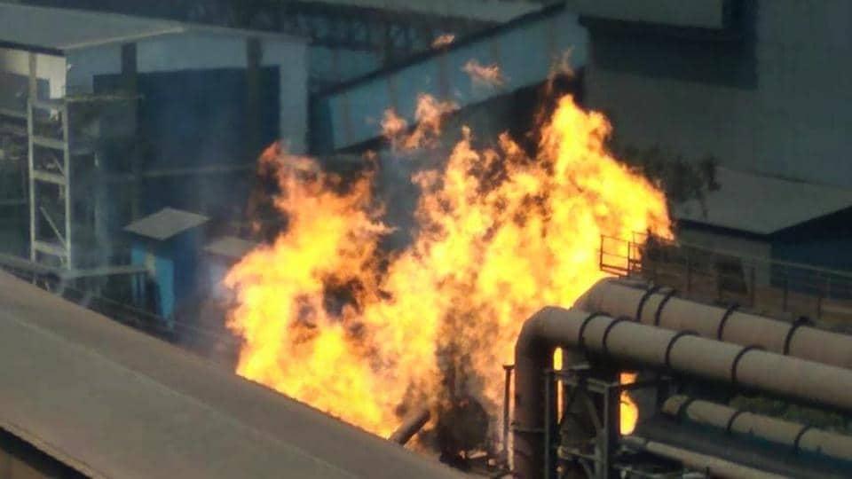 Bhilai Steel Plant,Bhilai Steel Plant blast,Bhilai