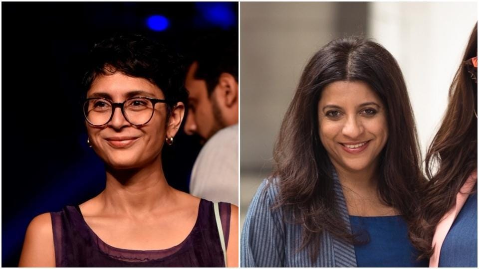 Kiran Rao and Zoya Akhtar have signed a note asking Bollywood not to work with those found guilty of sexual harassment.