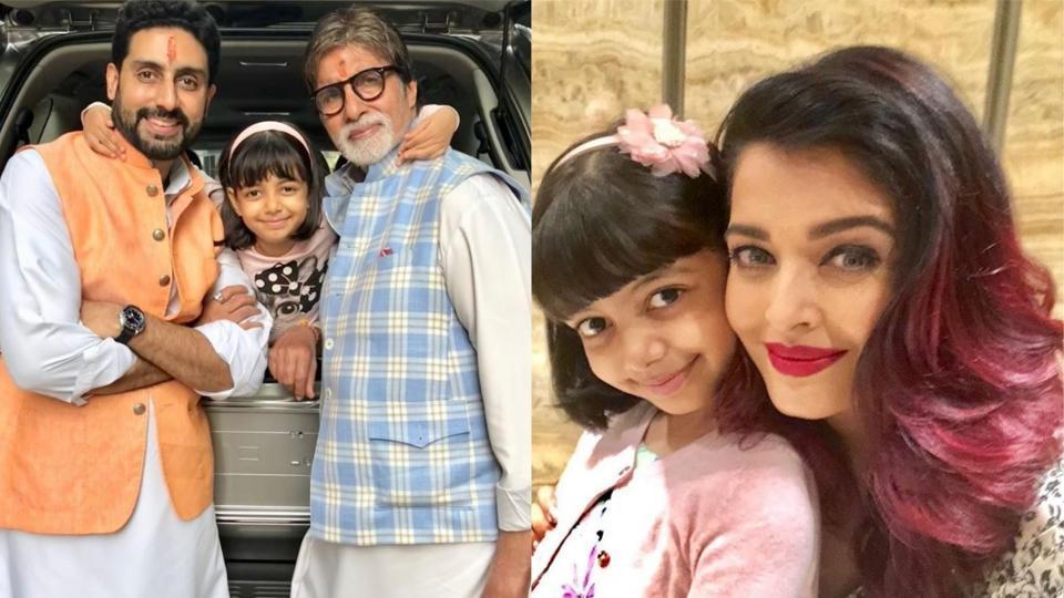 Aishwarya Rai captures daughter Aaradhya's cute moment with Amitabh Bachchan, Abhishek | bollywood