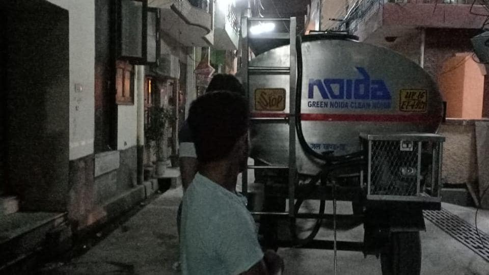 Consumers will have to bear with inadequate water supply till at least Diwali (November 7) as the Noida authority officials maintain that the cleaning exercise will continue till November 9.