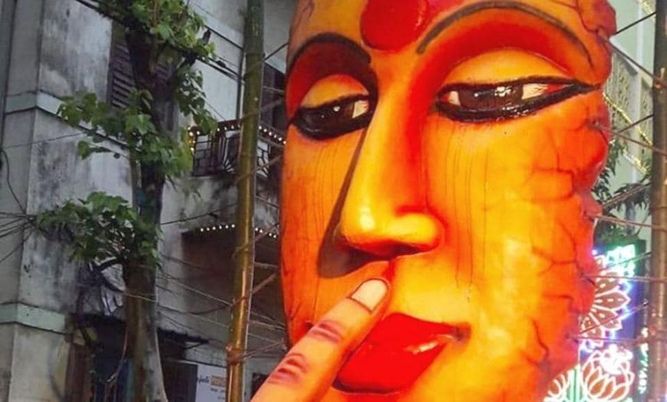 Inside pics, videos of Kolkata pandal that pays tribute to