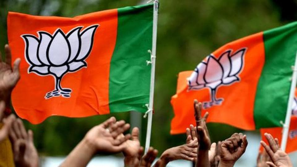 The Bhartiya Janta Party (BJP) became the joint largest party in the Goa assembly after two Congress MLAs resigned from the house and joined it (Representative photo) (AFP)