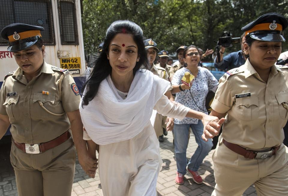 """Mukerjea, referring to medical reports prepared by doctors at JJ Hospital, said she was undergoing """"ischemic changes in my brain vessels""""(HT Photo)"""