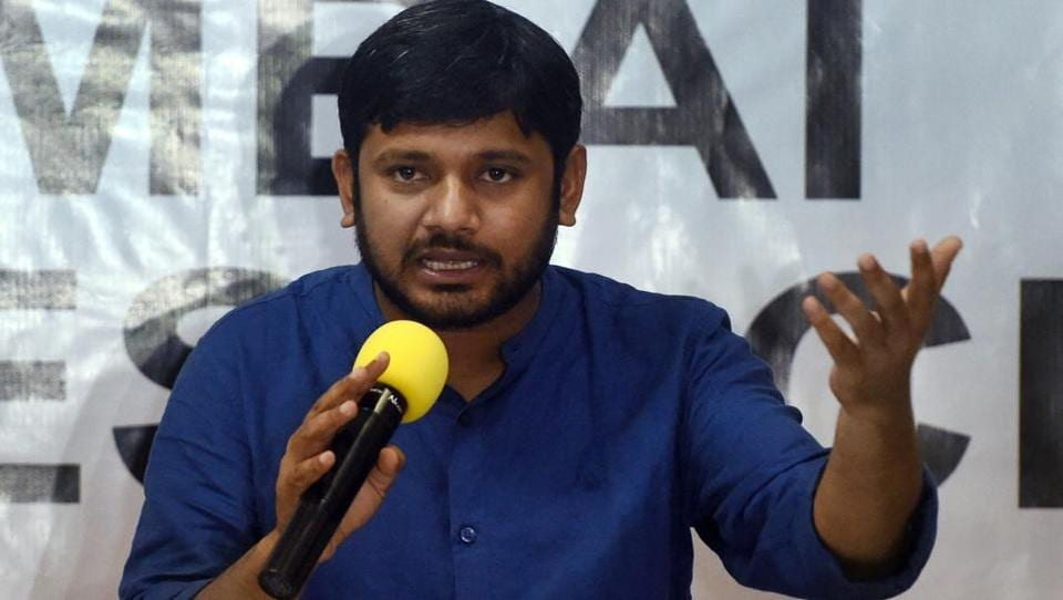 "AIIMS-Patna filed a FIR against former JNU Students Union president Kanhaiya Kumar and his supporters following his alleged misbehaviour with a doctor, nurses and a security guard of the hospital. ""An FIR was lodged following a directive from state health department after AIIMS-Patna doctors threatened to go on an indefinite strike if action was not taken against Kanhaiya and his supporters,"" said Phulwarisharif SHO Mohd Qaiser Alam. (Shashank Parade / PTI File)"