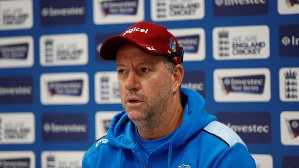 "West Indies coach Stuart Law was suspended on Tuesday from the first two ODIs against India for making ""inappropriate comments"" against a match official. He has also been also fined 100%  of his match fee, the ICC said in a statement. (Andrew Boyers / Reuters File)"