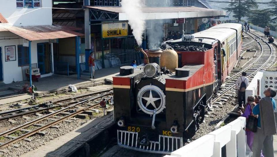 113-year-old steam engine back on Shimla-Kalka track