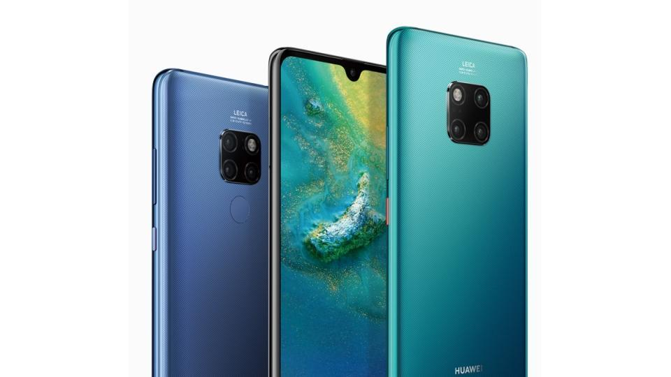 Huawei Mate 20, Mate 20 Pro smartphones launched.