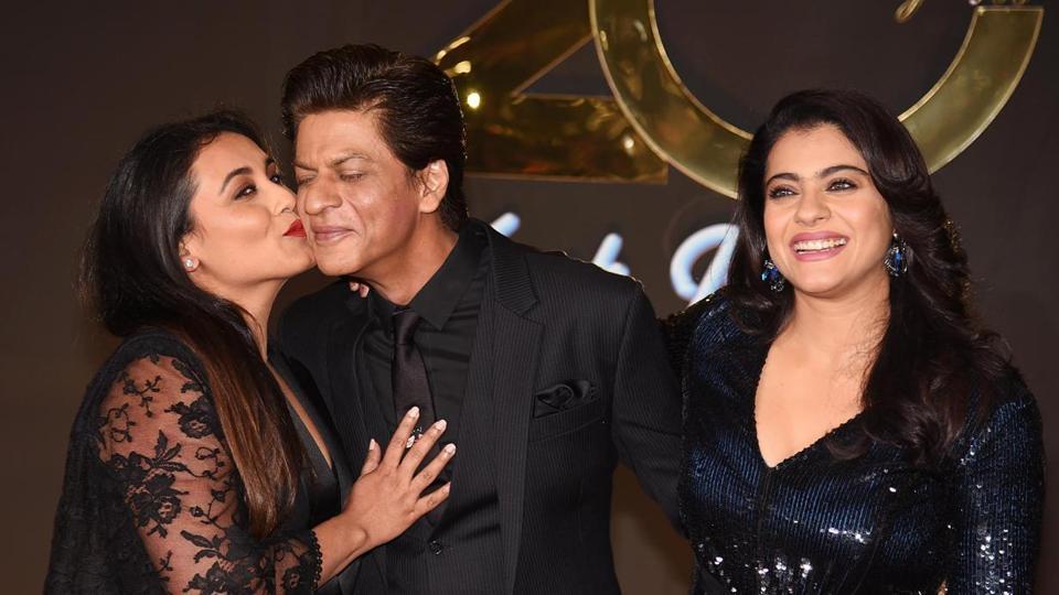 Shah Rukh Khan,Kajol,Rani Mukerji