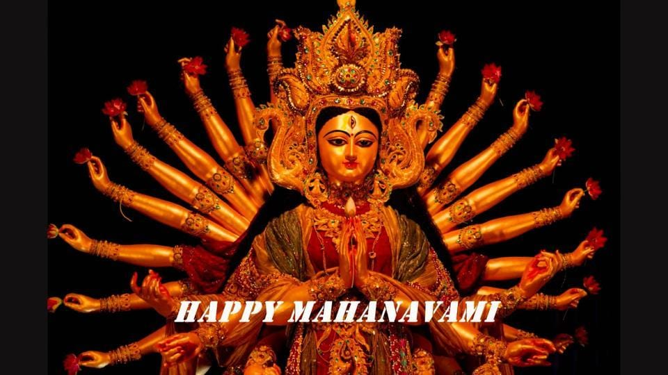 Maha Navami 2018, best wishes for friends and family.