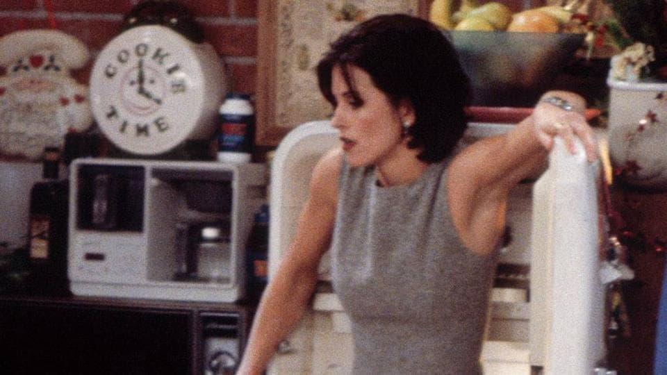 Courtney Cox played Monica Gellar in Friends.