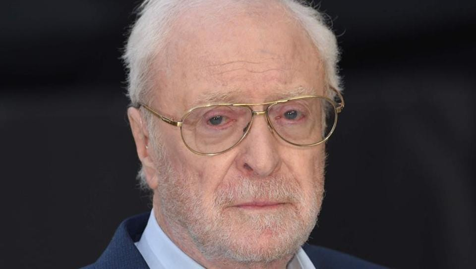 British actor Michael Caine poses on the red carpet for the world premiere of King of Thieves in central London.