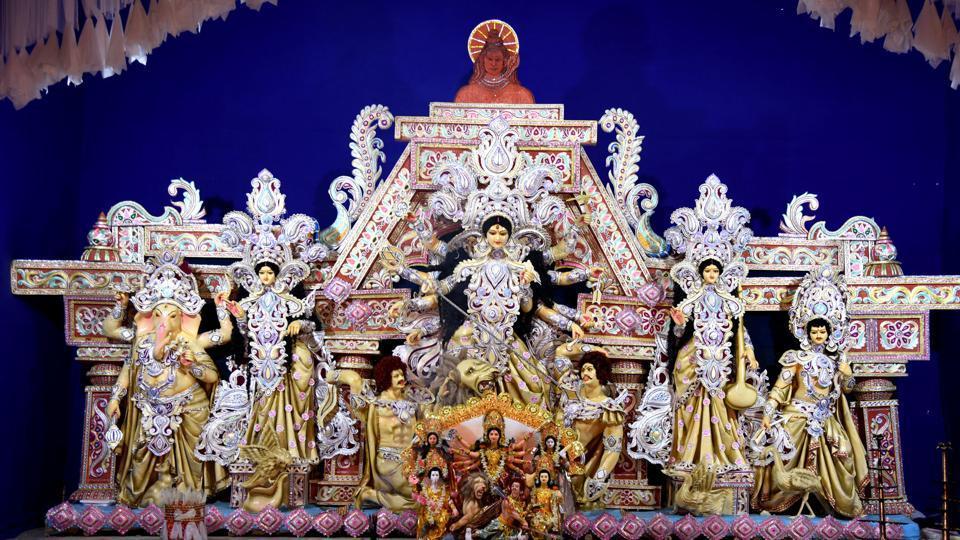 Durga Ashtami 2018,Durga Ashtami,Kanya Pujan