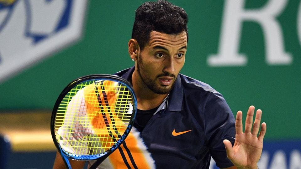 Nick Kyrgios is currently ranked 37th in the world.