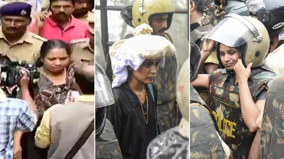 Mary Sweety, Rehana Fathima and Kavitha Jakkal attempted to enter Sabrimala temple on Friday morning. Rehana and Kavitha were the closest any menstruating women have gotten to entering the temple.
