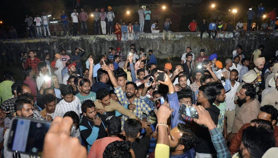 Image result for punjab train accident selfies