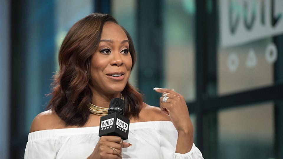 Fire picture of Sanya Richards