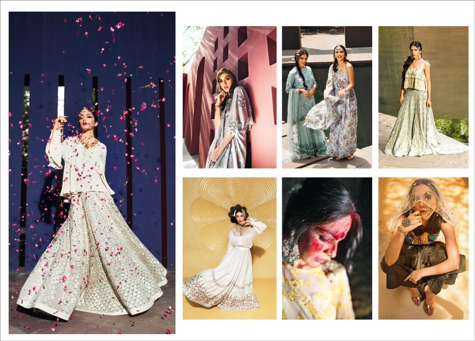 64e4456abf0 Presenting new ways to turn heads at a modern Indian wedding. (Location  courtesy  The Roseate  Styling  Avneet Chadha  Art Direction Amit  Malik Make-up and ...