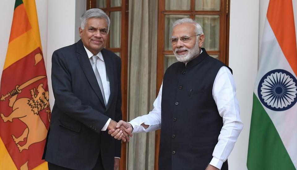 Modi,Wickremesinghe,India Sri Lanka