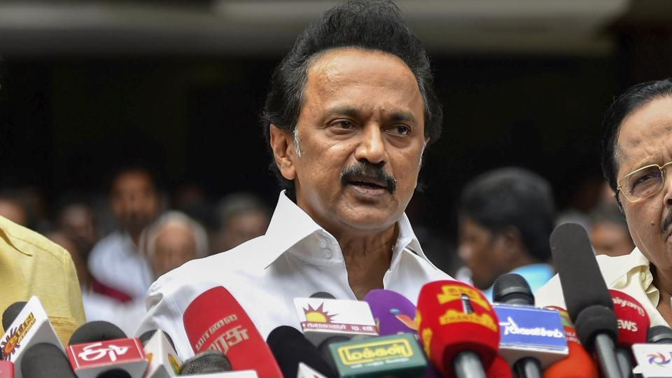 """The MK Stalin-led DMK is expected to """"exploit the perceived closeness"""" between the ruling AIADMK and the Bharatiya Janata Party (BJP)."""