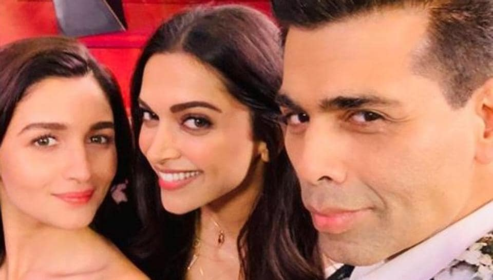 Koffee With Karan 6 begins Sunday evening with an episode featuring Alia Bhatt and Deepika Padukone.