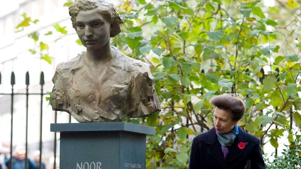 A bust of Noor Inayat Khan in central London.