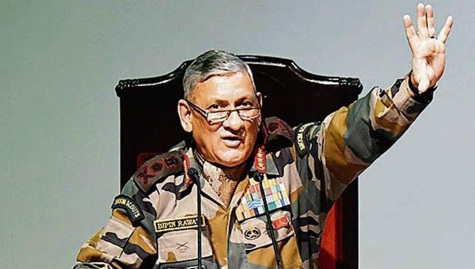 Indian army,Indian army chief,General Bipin Rawat