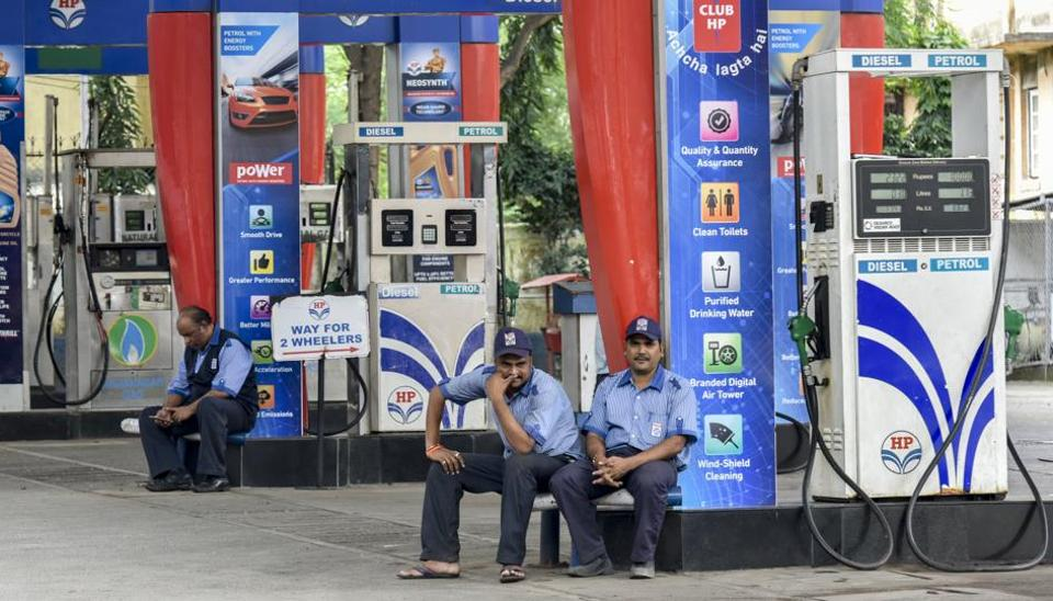 Around 400 fuel stations in the national capital began a 24-hour shutdown to press the Delhi government to slash value-added tax (VAT) on the key transport fuels to cut their losses.