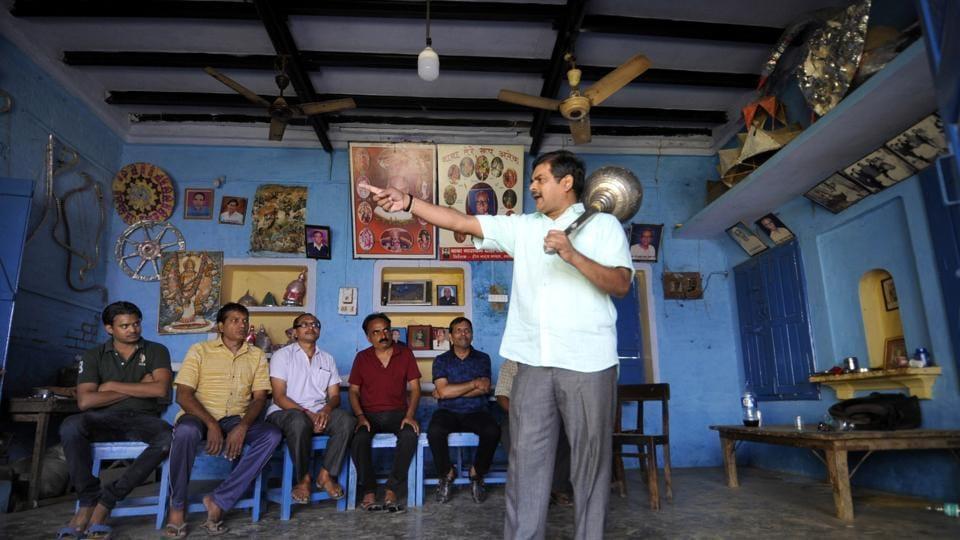 Parsi Theatre group,Dankaur,Drona Natya Mandal