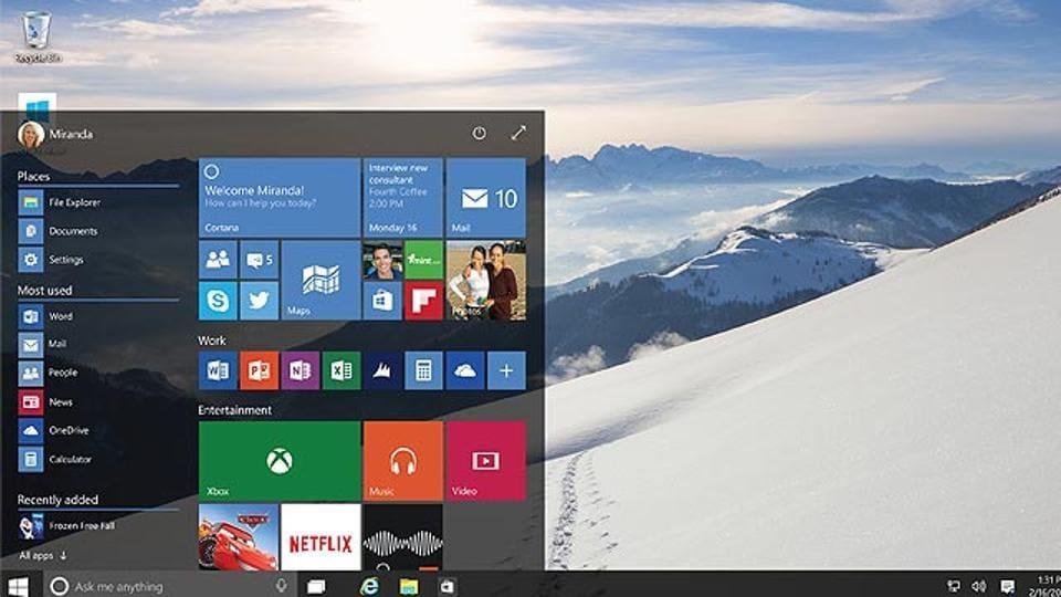 Microsoft Windows 10 has another critical bug
