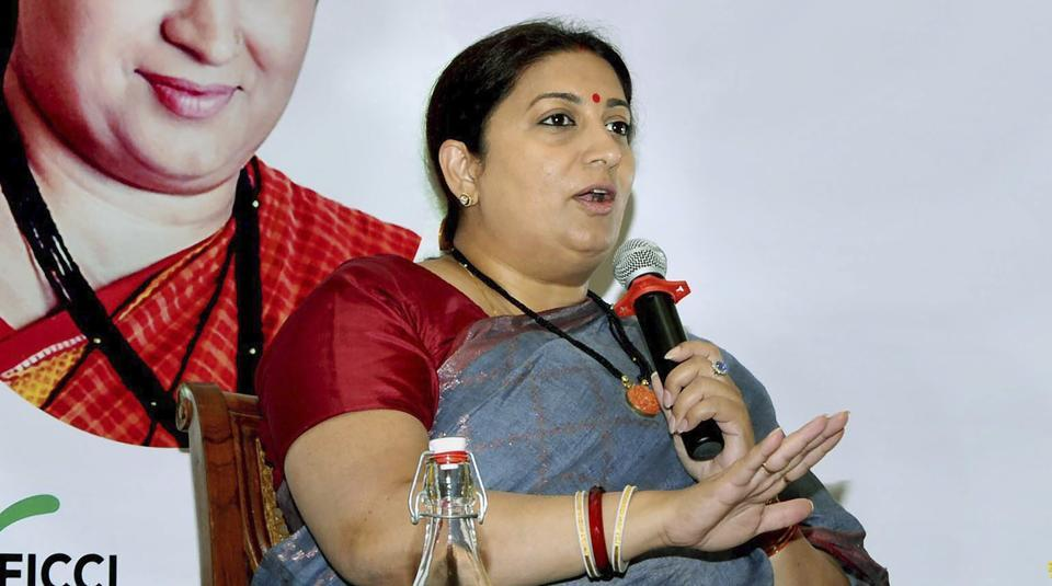 Smriti Irani attacked  her detractors after she was criticised for her comments.