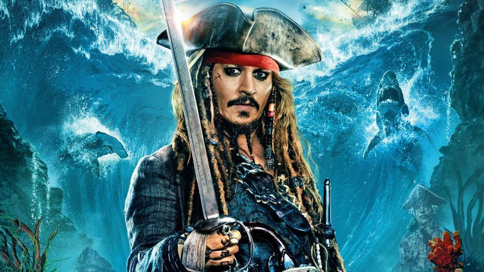 Johnny Depp was nominated for an Oscar for playing Jack Sparrow in the first Pirates of the Caribbean film.