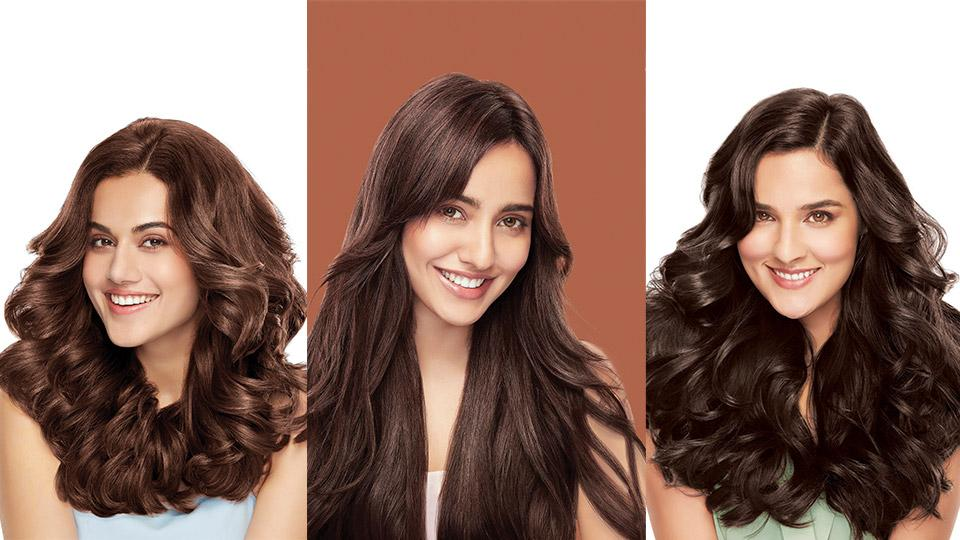 Garnier color naturals,brown,dark brown