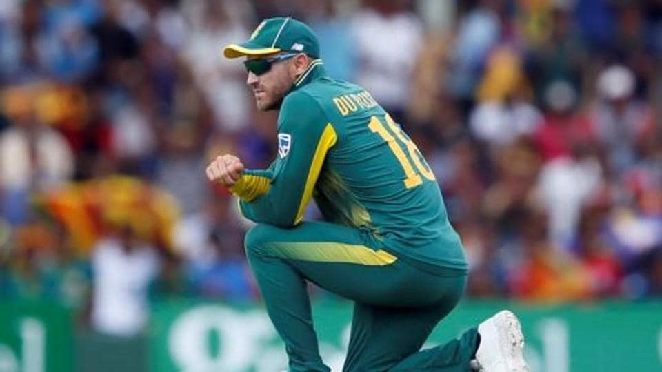 Du Plessis ready for hot Australia welcome