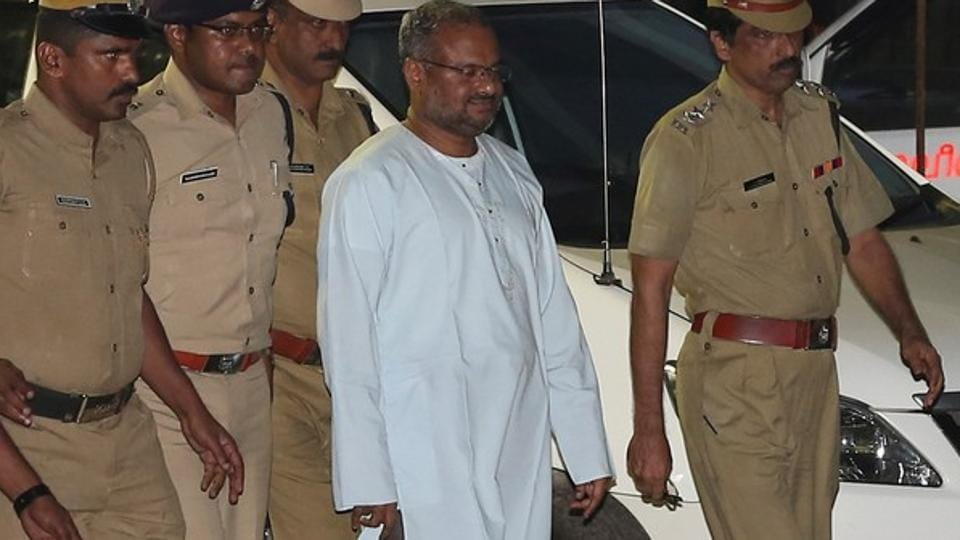 Father Kuriakose Kattuthara, 62, had testified against Bishop Franco Mulakkal (pictured), who was arrested last month after allegations of raping the Kerala nun repeatedly over a period of two years.