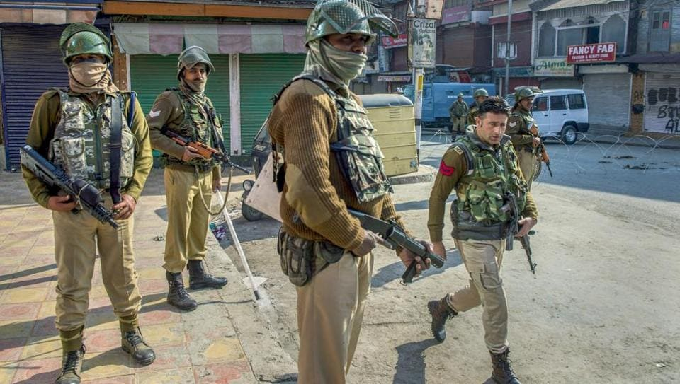 Authorities have ordered closure of schools and colleges in Srinagar city and mobile Internet services have been suspended in the district.